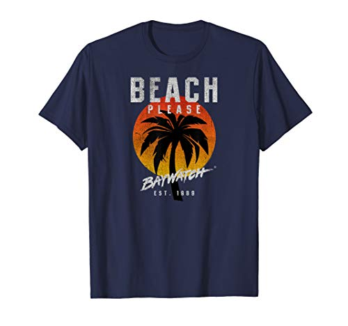 Baywatch Beach Please Esr. 1989 T-Shirt, Adult and Youth Sizes
