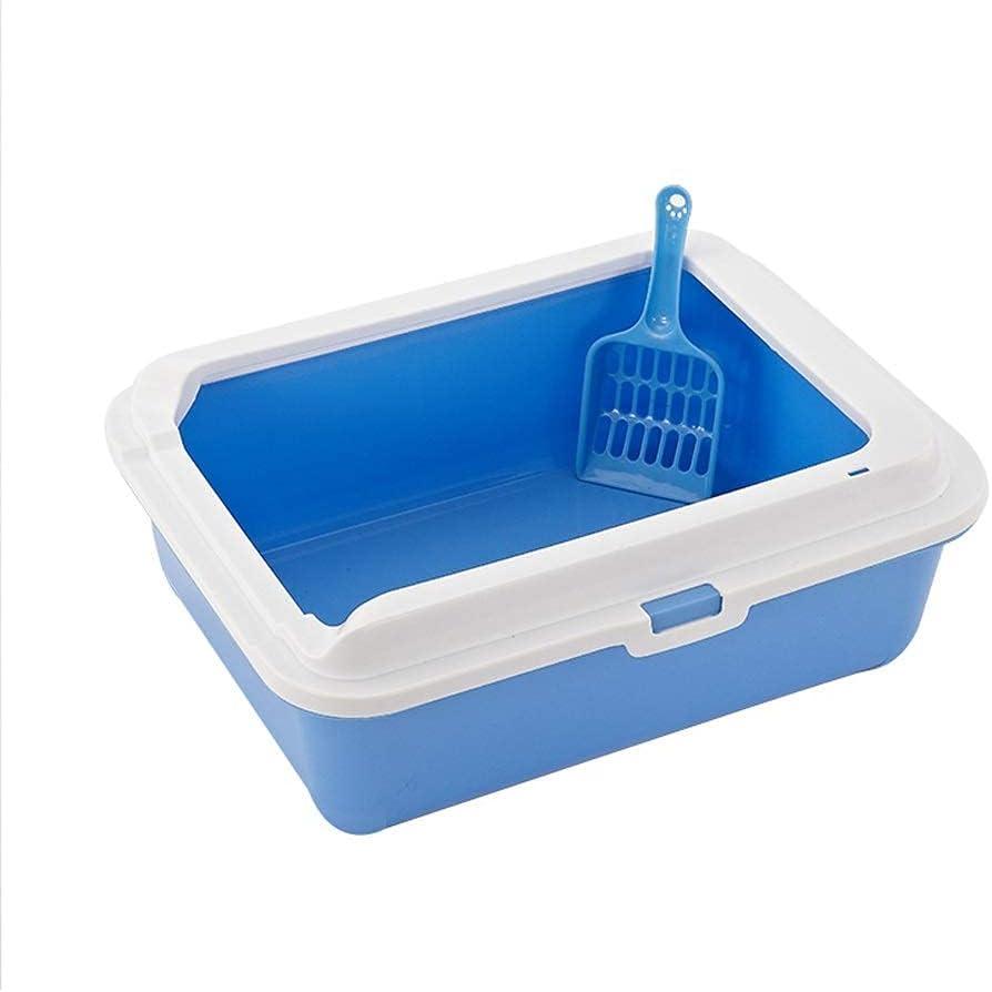 HyiFMY Cat Litter Box, Max 89% OFF Tray Bedpa 2021 Pet Toilet