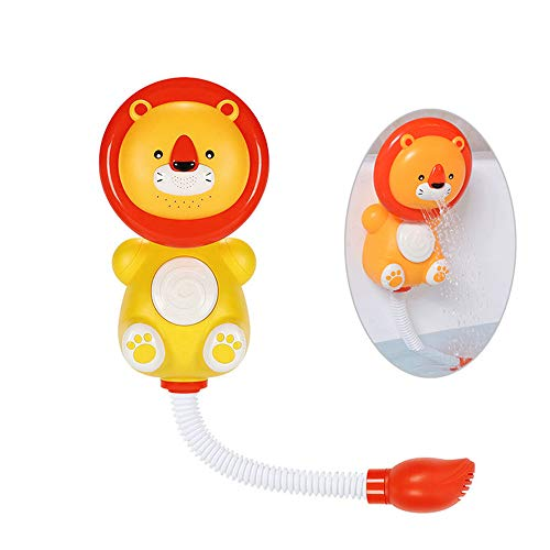 Purchase WE&ZHE Baby Bath Toys,Children's Electric Lion Shower Bathroom Water Play Toy Automatic Wat...