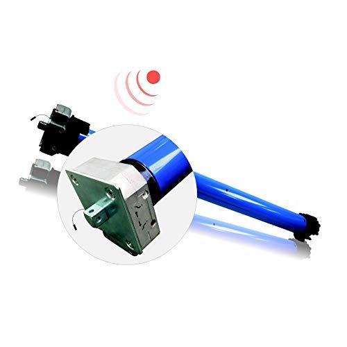 h Accionamiento del toldo/motor de toldo, mecánicamente ajustable, manivela de emergencia, radio integrada (SW78, 80 Nm, hasta 181 kg, protocolo G2) (1 unidad)