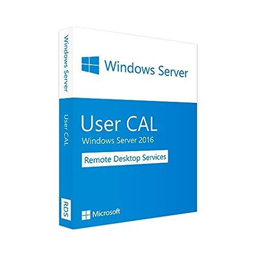 HPE MS Windows Server 2016 (WS16) Remote Desktop Services - Client Access Lizenz (Cal) Fuer 5 Benutzer (EMEA) LTU
