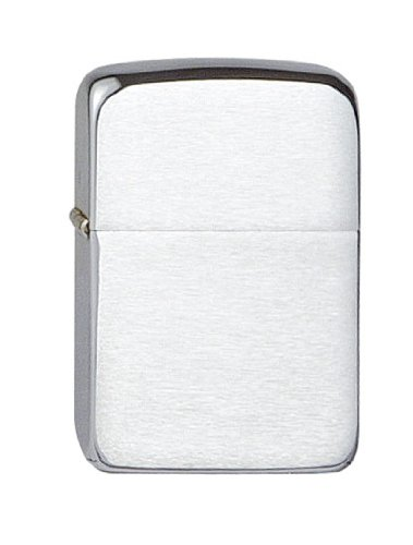 Zippo Zippo 1026006 Feuerzeug 1941 Replica Chrome Brushed Chrome Brushed