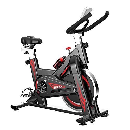 UIZSDIUZ Entrenamiento Bike Bike Bike Bike 24lb Flywheels Silent Cinte Unidad con Sistema de Resistencia para el Gimnasio para el hogar