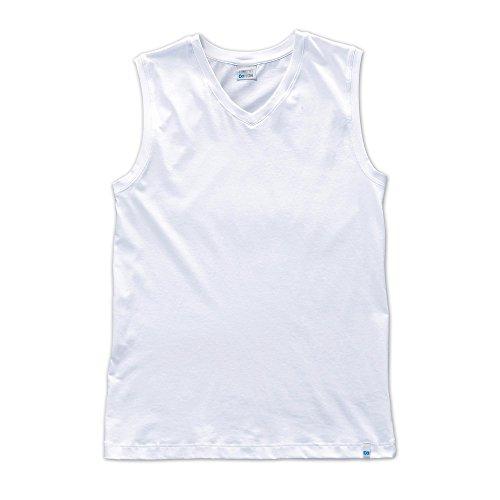 Schiesser Herren Unterhemd Tank Top, XXL (Herstellergröße: 8), Weiß
