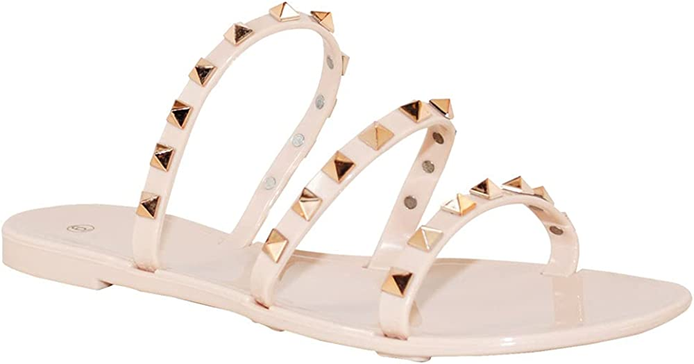 Complete Free Popular standard Shipping TRENDSUP Women's Jelly Sandals Flat