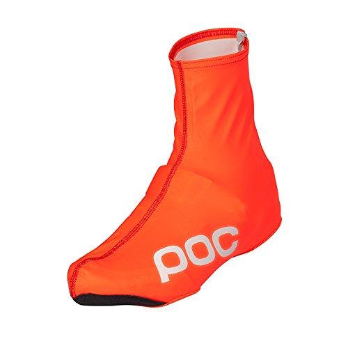 POC Sports AVIP Bottines de pluie pour homme S Zinc orange.