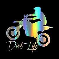 ARGYJAE ボードシリーズ車のステッカーの上のオートバイ車のスタイリングボディウィンドウの自動装飾面白いビニールのステッカーとデカールのためのクールなオートバイ (Color Name : Style 3, Size : Brushed Gold)