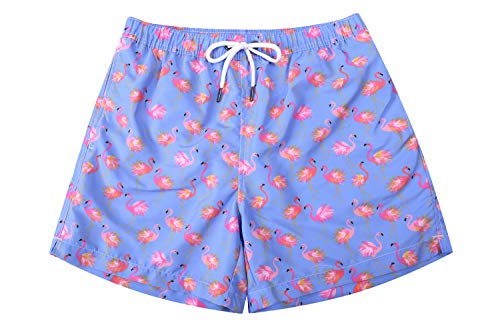 """WUAMBO Mens Boardshort Swimming Trunks with Mesh Lining and Pockets.#3 Small (Waist 28""""-31"""")"""