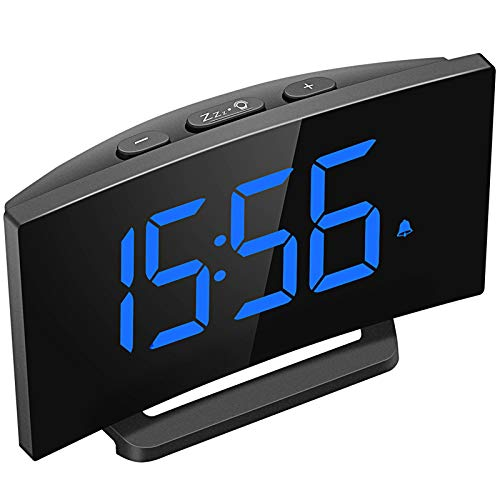 Mpow Digital Alarm Clock, 5'' Cu...