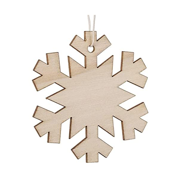100-Pieces-Wood-Cutouts-for-Crafts-with-Holes-Wooden-Ornaments-Unfinished-Painting-Wood-Crafts
