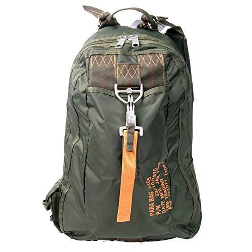 Mochila para Bag 5–Style de paracaidista con mosquetón con cierre rápido