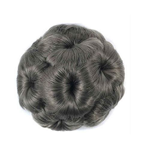 Elenxs Multi Couleurs Messy ondulés Cheveux frisés extensions de cheveux courts, Extensions Chouchous Clips Fleurs Chignons Ponytail postiches