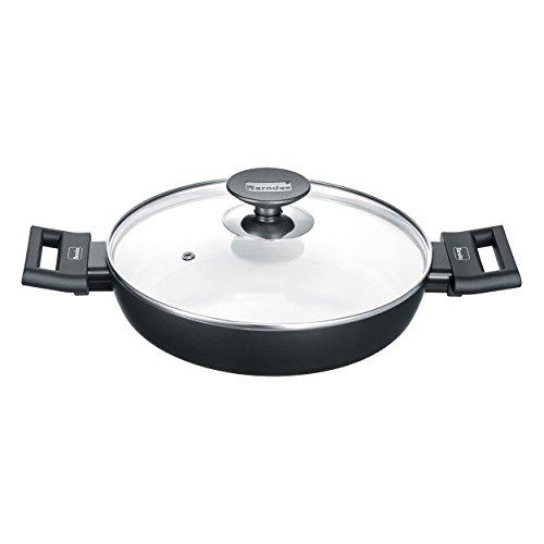 Berndes 013365 Induction Smart Poêle en aluminium Noir/blanc 24 cm