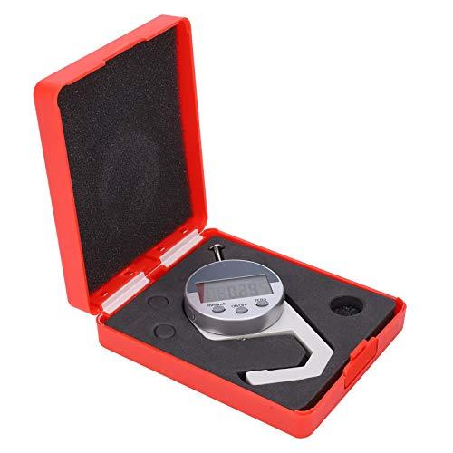 para medir cuero, papel, tela, película, esponja, grosor de alambre, medidor de grosor preciso, medidor de grosor digital portátil, herramienta de medición