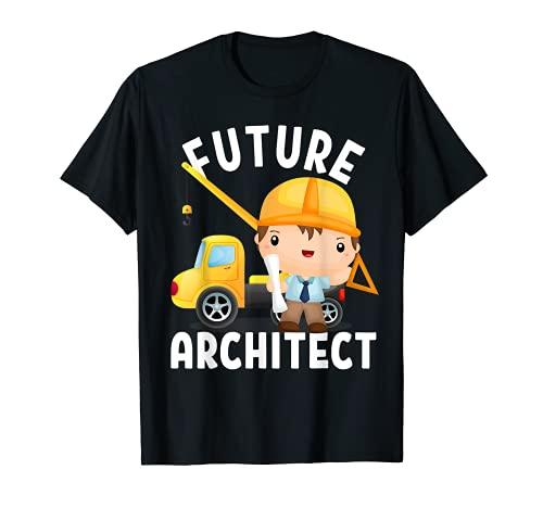 Disfraz de futuro arquitecto para nios y adultos pequeos Camiseta