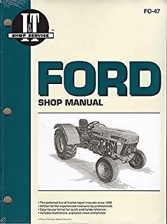FORD I&T TRACTOR SHOP MANUAL MODELS 3230, 3430, 3930, 4630, 4830 NEW FO-47