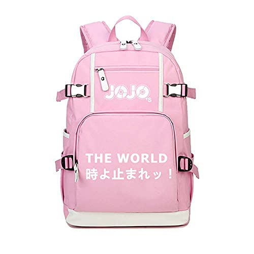 backpack Zaino e Uomo zaino con motivo anime per laptop JoJo's Bizarre Adventure Zaino anime grande capacitàuomini donne