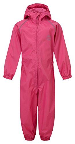 Kasteel Kleding 323 Splash weg kinderen regen pak 2-3 roze