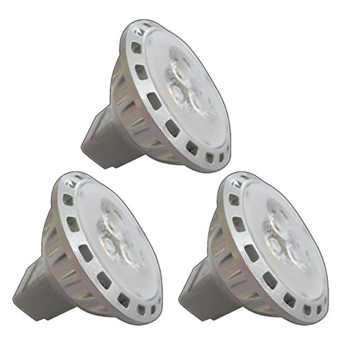 3x Stück - MR11 / GU4 LED 2,5/4,0 Watt 12V AC/DC warmweiß Spot 30° Grad Energiesparlampe Lampe Strahler 12V~ Wechselspannung (MR11-2,5W)