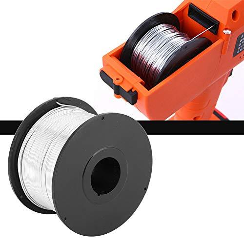 Ståltråd,4 st 110 m 0,8 mm multifunktion hållbar återanvändbar stålrebar slipstråd med låg kolhalt för automatisk armeringsjärn
