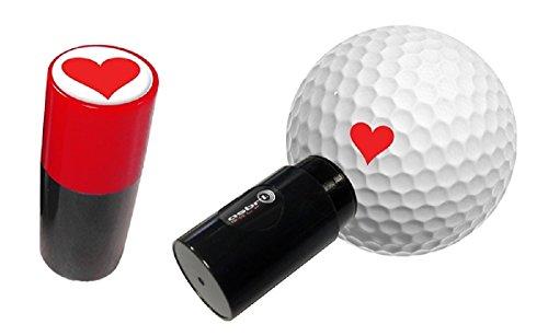 Heart Golf Ball Stamper / Marker by Premier Plus Golf