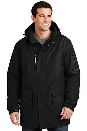 Port Authority Heavyweight Parka. J799 Black L