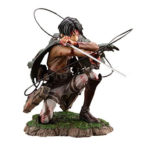 Angriff auf Titan Rivale Ackerman Figure Levi Figuren Statue Modell