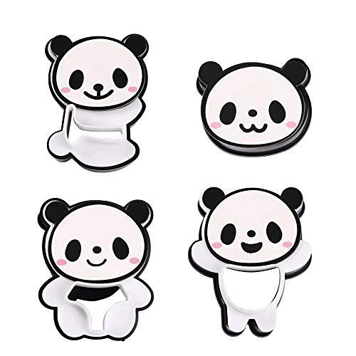 YERZ Cute Panda Bear DIY Sandwich & Rice Cutter, Cake Bread Toast Mold Maker, Biscuit Cutter DIY Tools, Chocolate Bread Decoration Tools