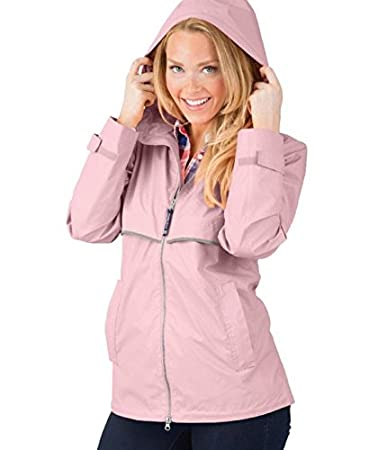 Charles River Apparel Women's Wind & Waterproof Rain Jacket