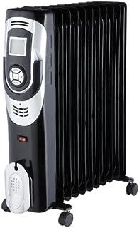 Drexon 814250 814 250 baño de aceite Radiador pantalla digital 2500W, 25000 W, cromo