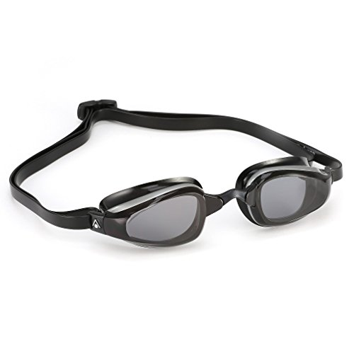 Aqua Sphere Michael Phelps K180 – Gafas - 173260, Smoke, Smoke Lens/Yellow & Black
