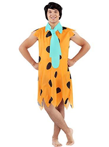 Funidelia | Disfraz de Pedro Picapiedra - Los Picapiedra Oficial para Hombre Talla XXL The Flintstones, Dibujos Animados, Los Picapiedra, Caverncolas