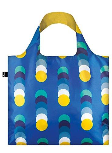 LOQI Geometric Circles Bag- Bolsa de la Compra reutilisable