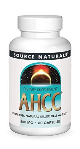 Source Naturals AHCC 500 mg Increases Natural Killer Cell Activity - 60...