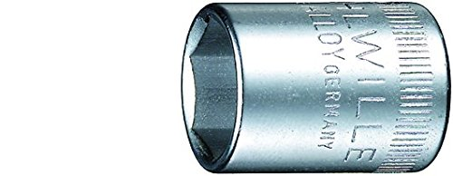 Stahlwille Steckschlüssel 7 mm; Hochleistungsstahl verchromt; Anti Rutsch Antrieb AS-Drive; Cadmiumfrei - 1010007