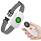 Dog Training Collar with Remote,PORUIS Lightweight Portable Shock Collar,Rechargeable Electronic Dog Collar with 3 Safe Training Modes,Security Lock and 1640Ft Remote Range for Small Medium Large Dogs