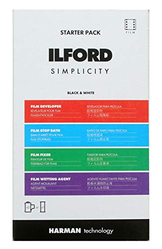 Ilford Simplicity Starter Kit Fotochemie zur SW-Filmentwicklung (2xKB oder 1xRF)
