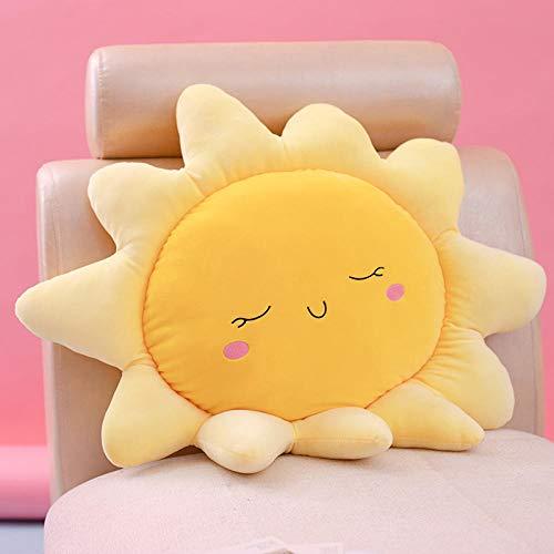 30-55 cm söt sol moln kudde flicka hjärta sovrum burspråk barn dekoration docka-sol_45 cm