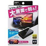 カシムラ KD-199 Miracastレシーバー HDMI/RCAケーブル付 ブラック
