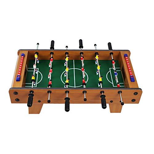 HLSUSAN Butlers Tischkicker für Kinder 50 * 25 * 15.5 cm Spielzeug Mini Kickertisch für Groß und Klein hochwertiges Fußball-Tisch Spiel mit Ball und Spielstandsanzeige
