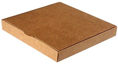 Caja para regalo automontable, set 25 unidades 16 x 16 x 2,5 Kraft