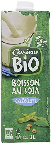 BIO Boisson Soja Calcium Brique Biologique