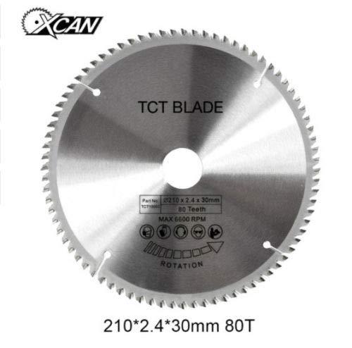 Concord Blades – Hoja de sierra circular BE-TOOL TCT de corte de metal no...