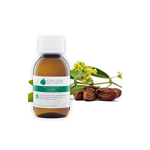 Huile Végétale de Jojoba à mélanger pour les massages - 60ml