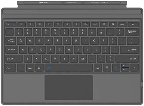 Arteck Microsoft Surface Pro Type Cover Ultra Slim Portable Bluetooth Wireless Keyboard with product image