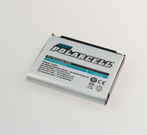 NFE² Edition Polarcell Akku - 1100mAh - kompatibel mit Samsung SGH-G800, L870, M8910 & S5230