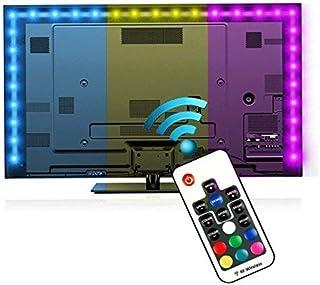 comprar comparacion Tiras LED Iluminación 200cm, Reignet Tira de LED para HDTV de 40-60 pulgadas. Retroiluminación de TV Impermeable 5050 SMD ...