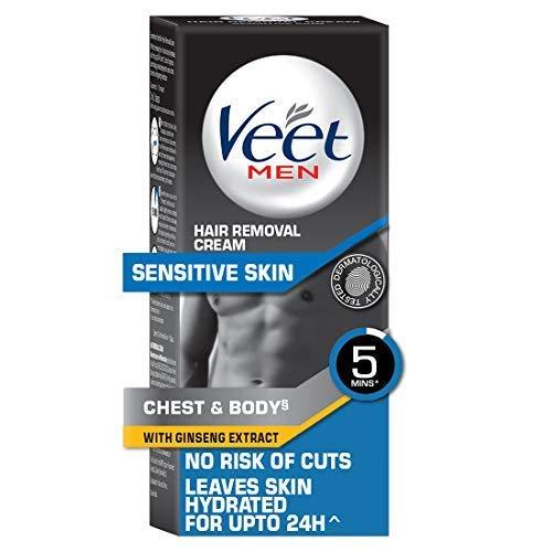 Veet Hair Removal Cream for Men, Sensitive Skin - 50g