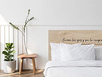 ✅ Cabecero de cama fabricado en contrachapado de 10mm. ✅ Cabecero de cama impreso digitalmente con gran calidad. ✅ Fácil colocación, incluye herrajes para anclarlo a la pared. ✅ Fabricado en España. ✅ Varias medidas y diseños disponibles.