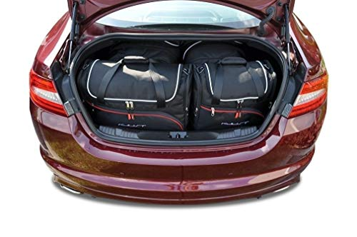 KJUST Kofferraumtaschen 4 STK kompatibel mit Jaguar XF Limousine I 2007 - 2015